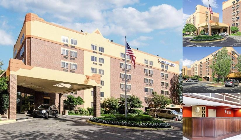 Comfort Inn University Center photo collage