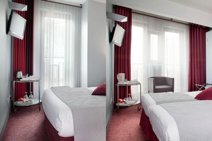 Hotel Paris Bastille photo collage
