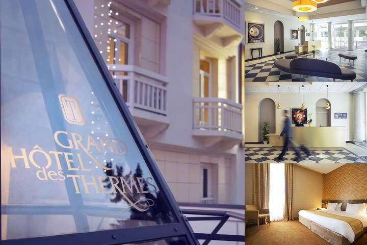Mercure Brides Les Bains Grand Hotel Des Thermes photo collage