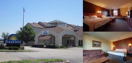 Days Inn St. Louis Westport Photo Collage