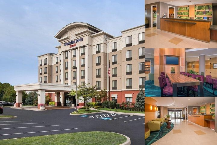 Hagerstown Springhill Suites by Marriott photo collage