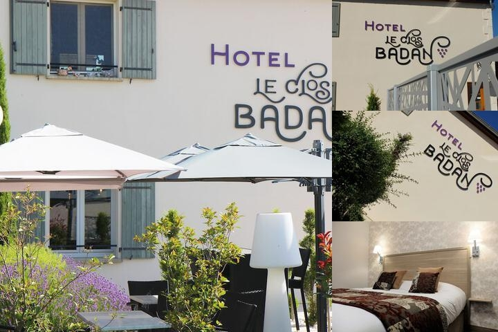 Hôtel Le Clos Badan photo collage
