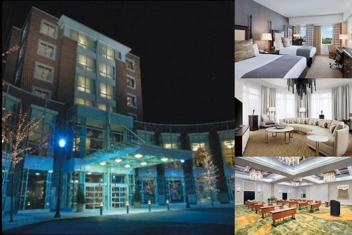 The Inn at Penn a Hilton Hotel photo collage