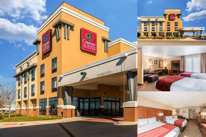 Comfort Suites Longmont photo collage