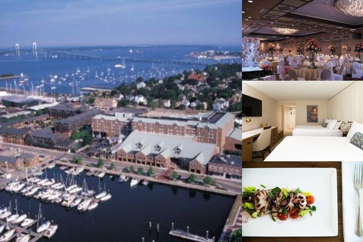 Newport Marriott photo collage