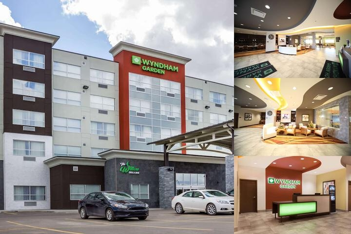 Wyndham Garden Edmonton Airport photo collage