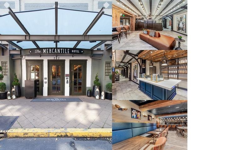 The Mercantile Hotel photo collage