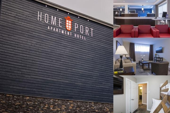 Homeport Apartment Hotel photo collage