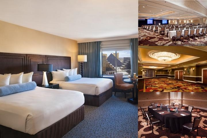 Excalibur Hotel Casino photo collage