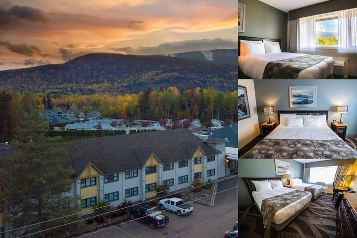 Prestige Hudson Bay Lodge photo collage