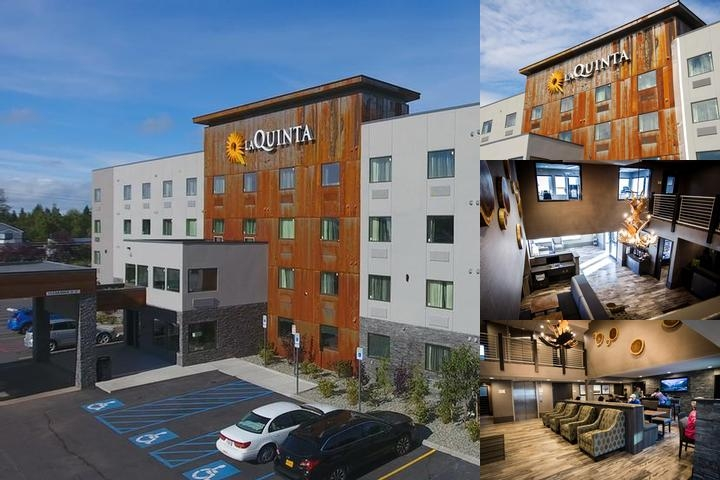 La Quinta Inn & Suites Anchorage Airport by Wyndham photo collage