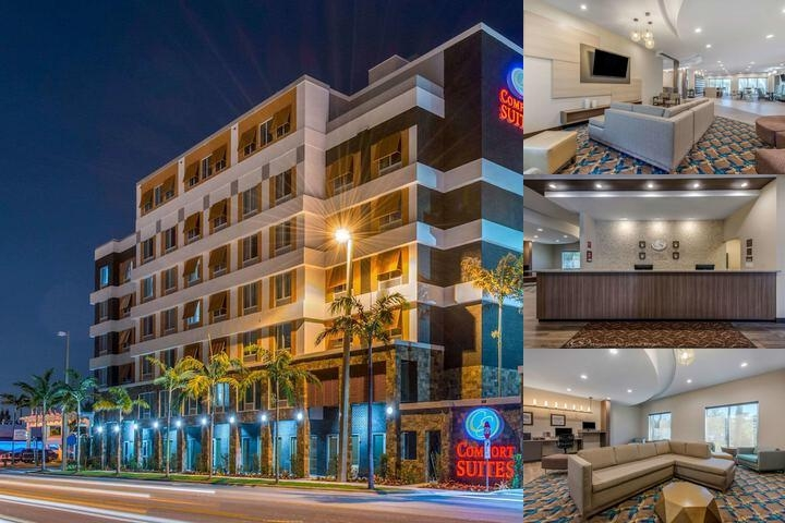 Comfort Suites Fort Lauderdale Airport & Cruise Port photo collage