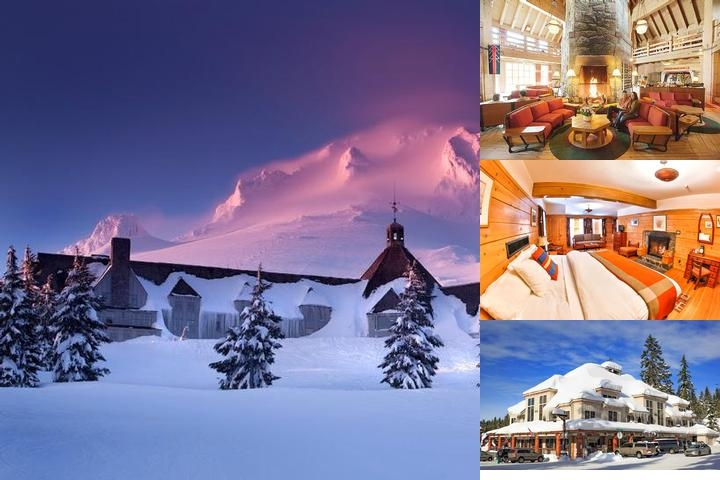 Timberline Lodge photo collage