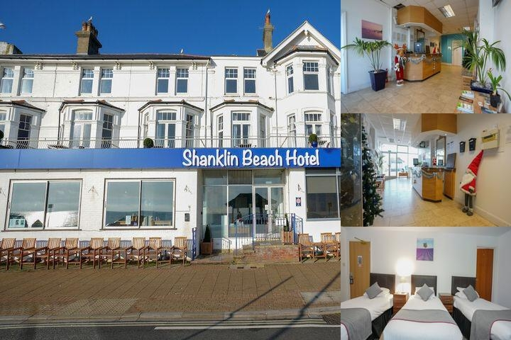 Shanklin Beach Hotel photo collage