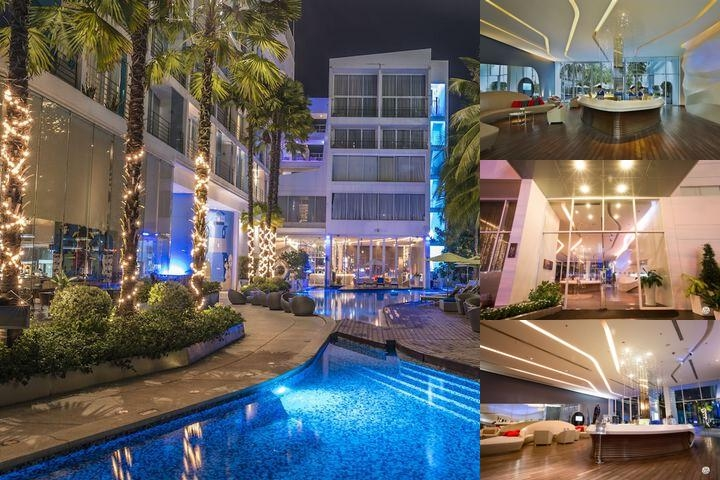 Baraquda Pattaya Mgallery by Sofitel photo collage
