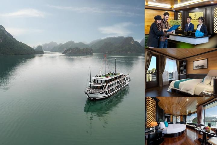 Athena Cruise Halong Bay photo collage