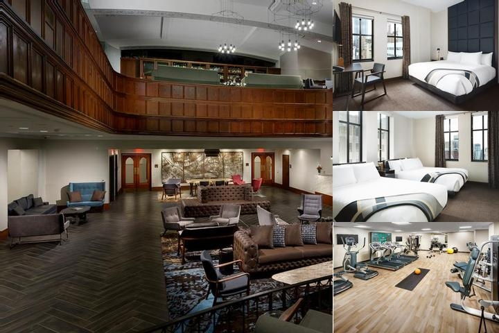 Distrikt Hotel Pittsburgh photo collage
