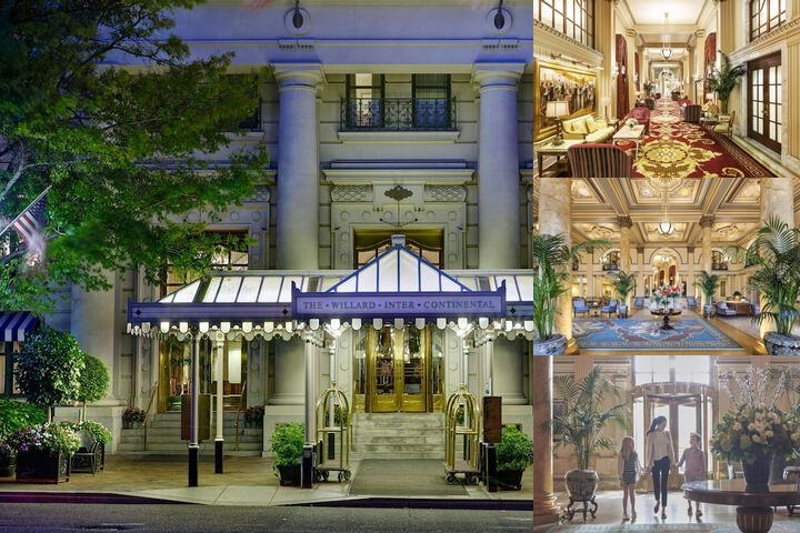 Willard Intercontinental Washington Dc photo collage