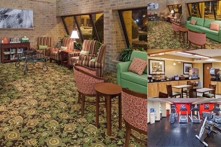 Clarion Inn & Suites Tulsa Central I 44 photo collage
