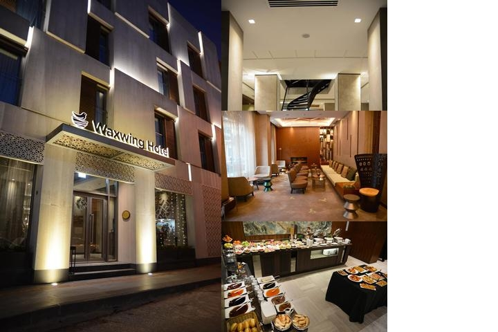 Waxwing Hotel photo collage