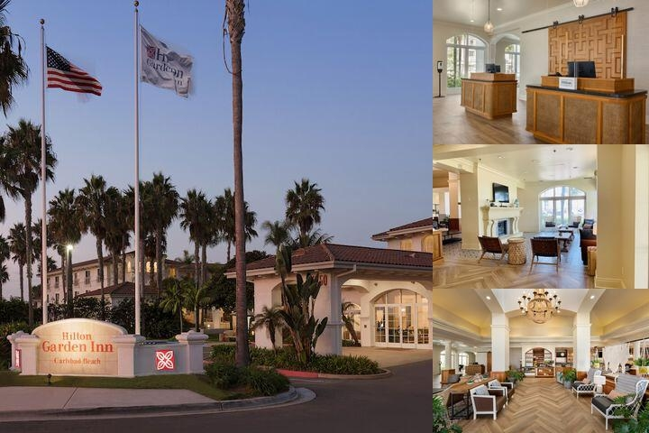 Hilton Garden Inn Carlsbad Beach photo collage