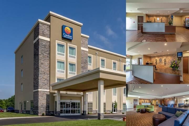 Comfort Inn & Suites Harrisburg Airport Hershey South photo collage
