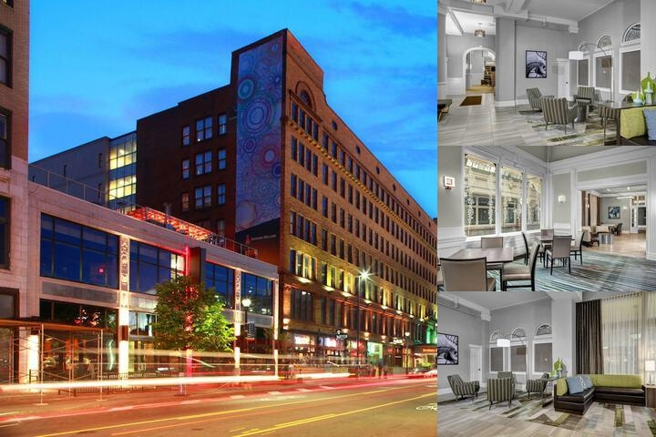 Residence Inn Cleveland Downtown photo collage