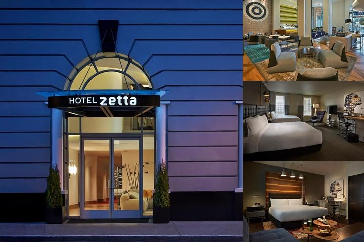 Hotel Zetta photo collage