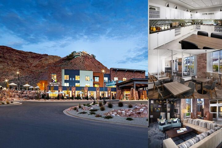 Hyatt Place Moab photo collage
