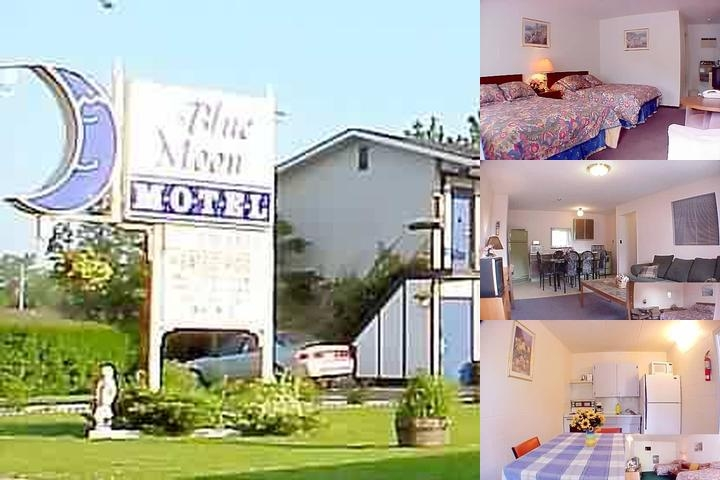 Blue Moon Motel photo collage