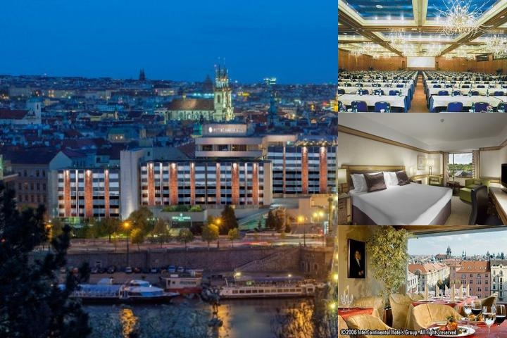 Intercontinental Prague photo collage