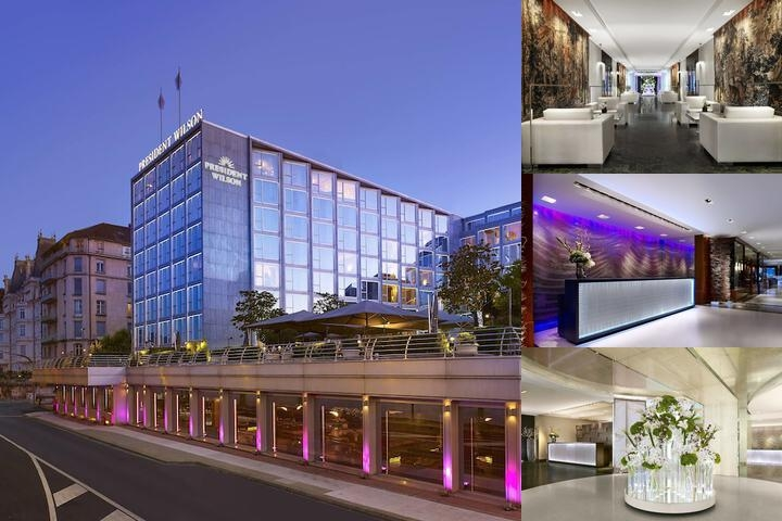 Hotel President Wilson a Luxury Collection Hotel Geneva photo collage