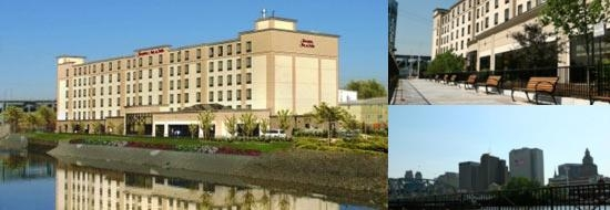 Hampton Inn & Suites Newark / Harrison Riverwalk photo collage