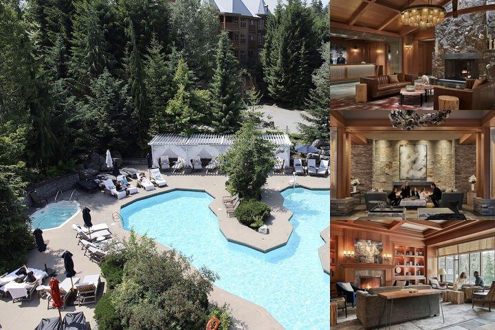 Four Seasons Resort Whistler photo collage