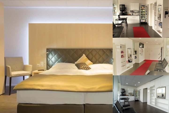 Hine Adon Apart Hotel Bern Airport photo collage