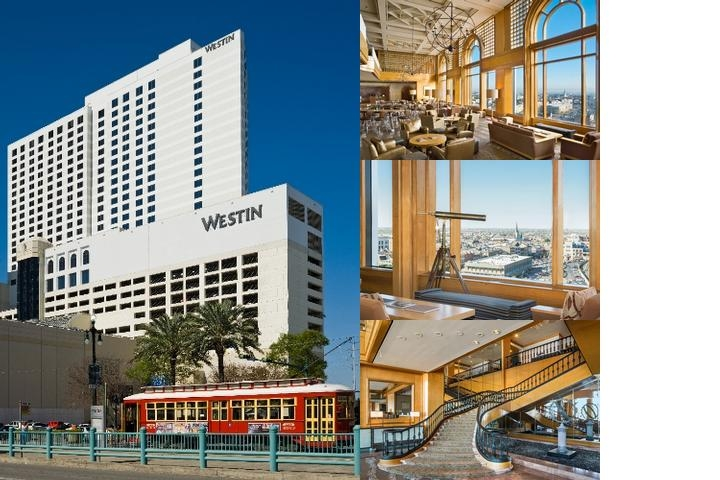 The Westin New Orleans Canal Place photo collage