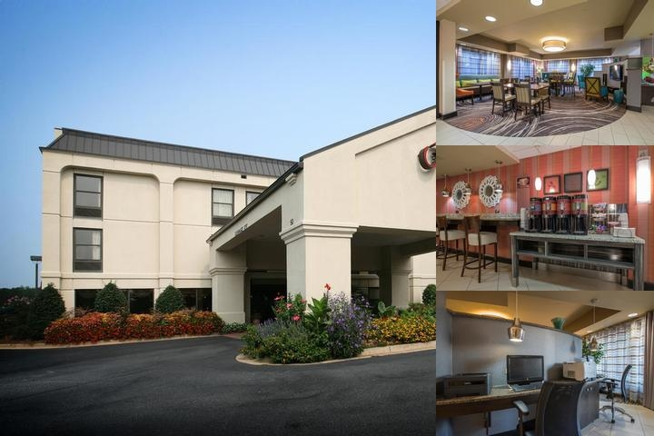 Hampton Inn Atlanta Newnan photo collage