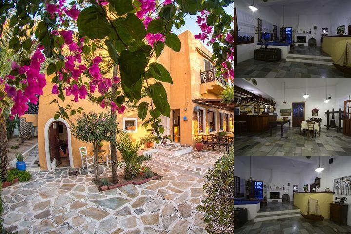 Vagia Hotel photo collage