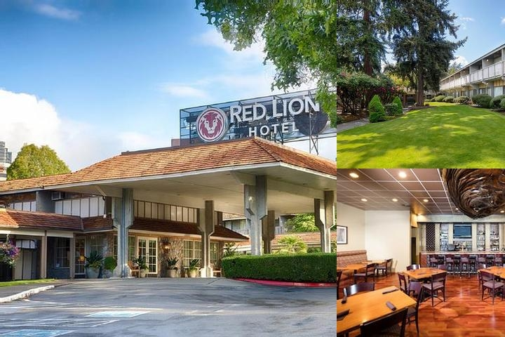Red Lion Hotel Bellevue photo collage