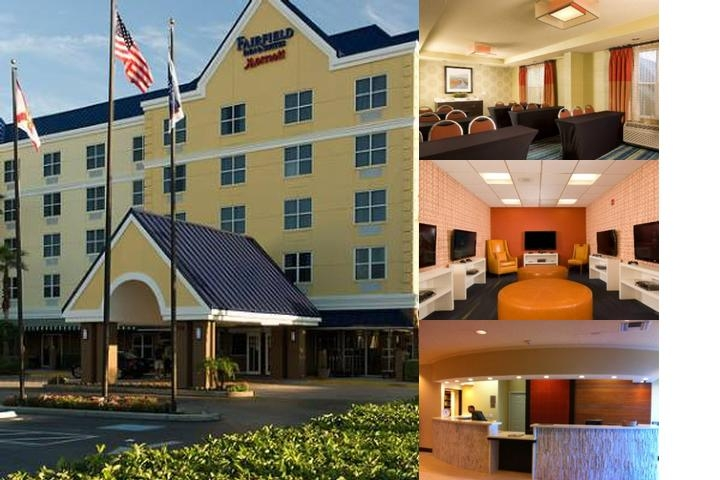 Fairfield Inn & Suites Orlando Lake Buena Vista photo collage