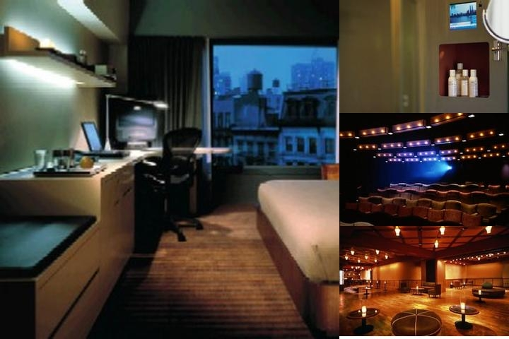 Tribeca Grand Hotel photo collage