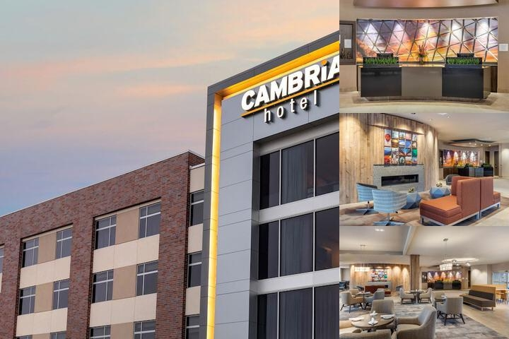 Cambria Hotel Omaha Downtown photo collage