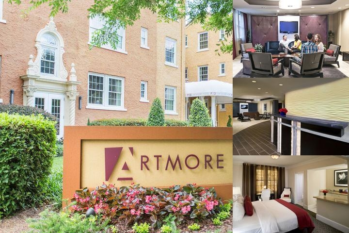 Artmore Hotel photo collage