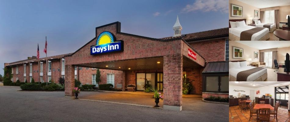 Days Inn Brantford photo collage