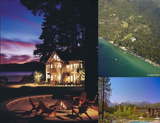 Hyatt Regency Lake Tahoe photo collage