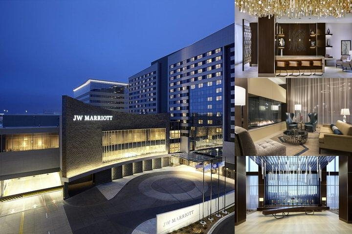 JW Marriott Minneapolis Mall of America photo collage