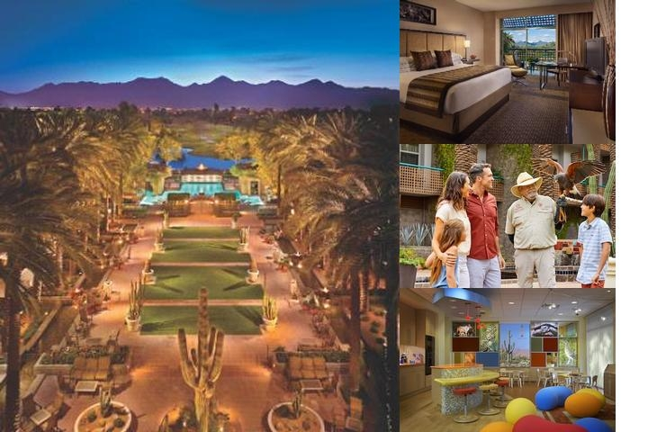 Hyatt Regency Scottsdale Resort & Spa at Gainey Ra photo collage