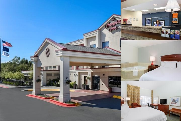Hampton Inn Anchorage photo collage