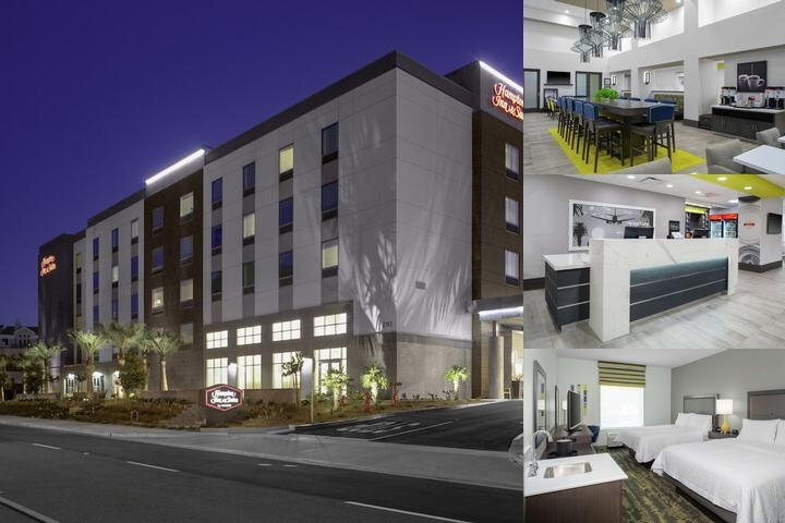 Hampton Inn & Suites by Hilton Irvine Orange County Airport photo collage