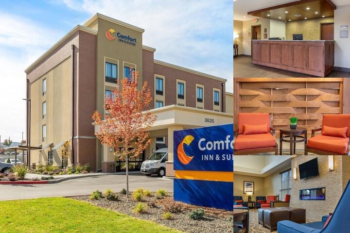 The Comfort Inn & Suites photo collage